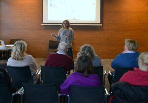 Domanic method course teacher Martyna Fon Zvegelj