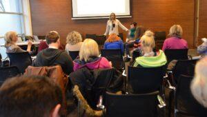 Martyna Fon Zvegelj Bioenergy healing lecture